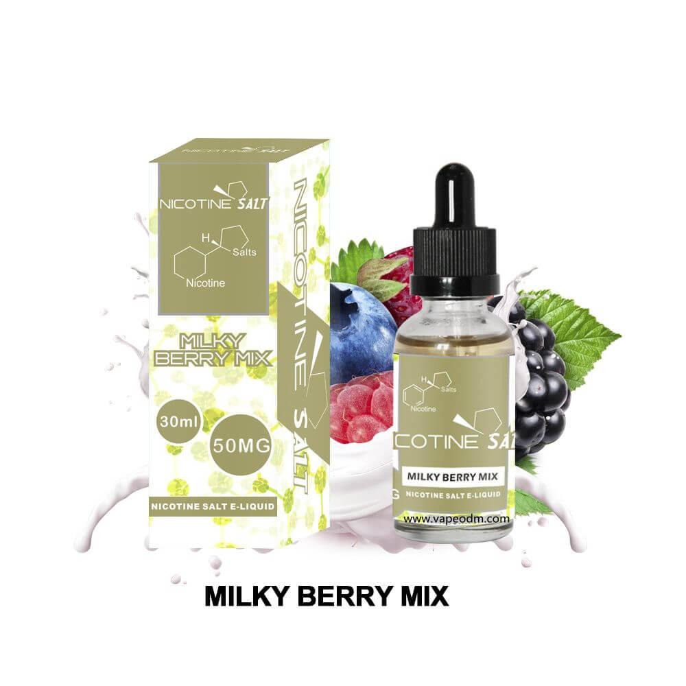 MILKY BERRY MIX nicotine salt