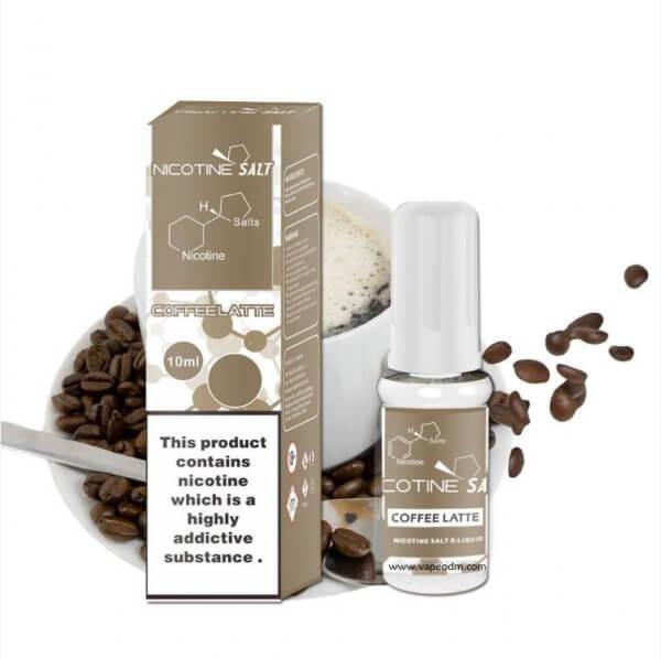 coffee-latte nicotine salt eliquid