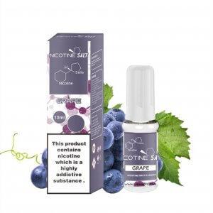 Grape nicotine salt e-liquid