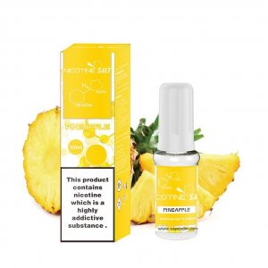 Pineapple nicotine salt e-liquid