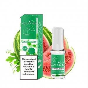 Watermelon nicotine salt e-liquid